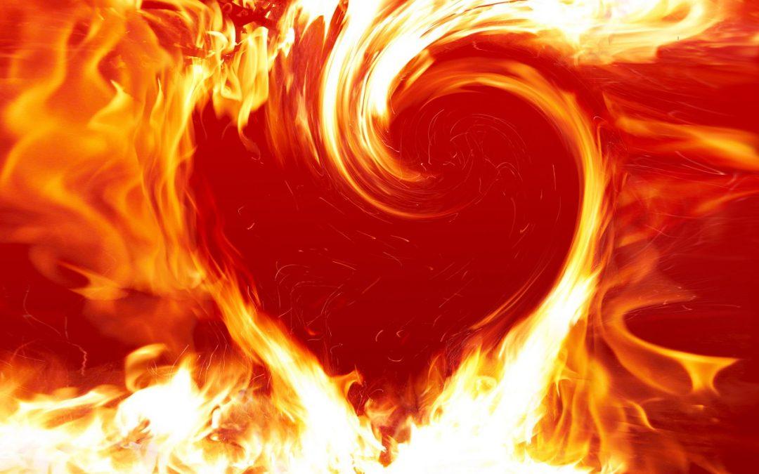 Hořící chrám a zájem Nejvyššího dobra